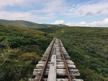 Old Railroad To Nowhere By Nature
