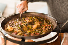 Details Of Paella With Vegetab...