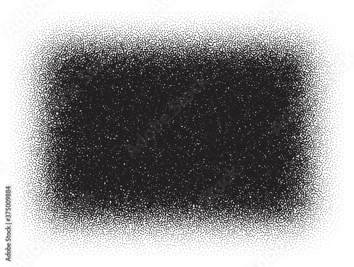 Tela Dotwork rectangle pattern vector background