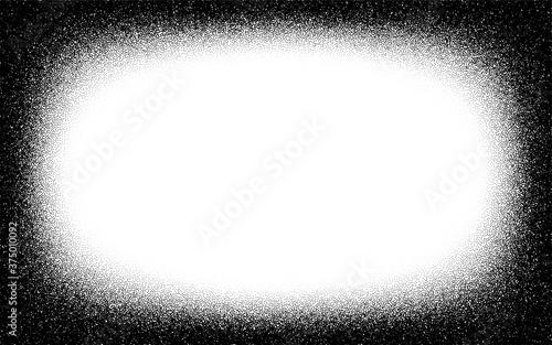 Fototapeta Dotwork frame pattern vector background