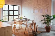 Interior Of Spacious Designer ...