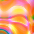 canvas print picture - Abstract Background Colorful Gradient Graphic