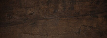 Dark, Natural Wooden Texture M...