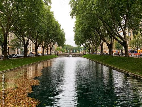 canal in amsterdam Fototapeta