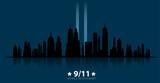 Fototapeta Nowy Jork - 11 September-Patriot day USA.We will never forget