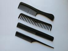 Set Of Black Hairbrushes For B...