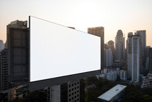 Blank White Road Billboard Wit...