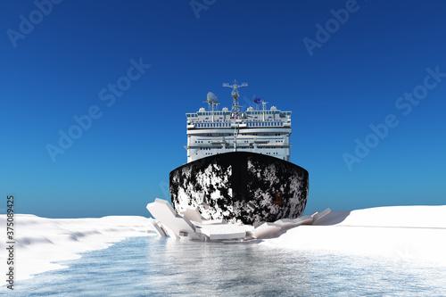 Fototapeta Icebreaker