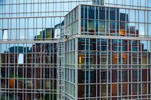 Windows Of Skyscraper. Abstrac...