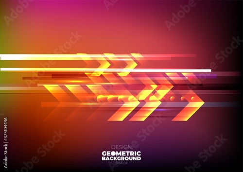 Papel de parede Technology background color vector for web and design