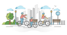 City Cycling Activity As Urban...