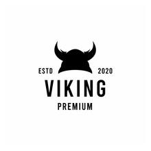 Viking Silhouette Vector Logo ...