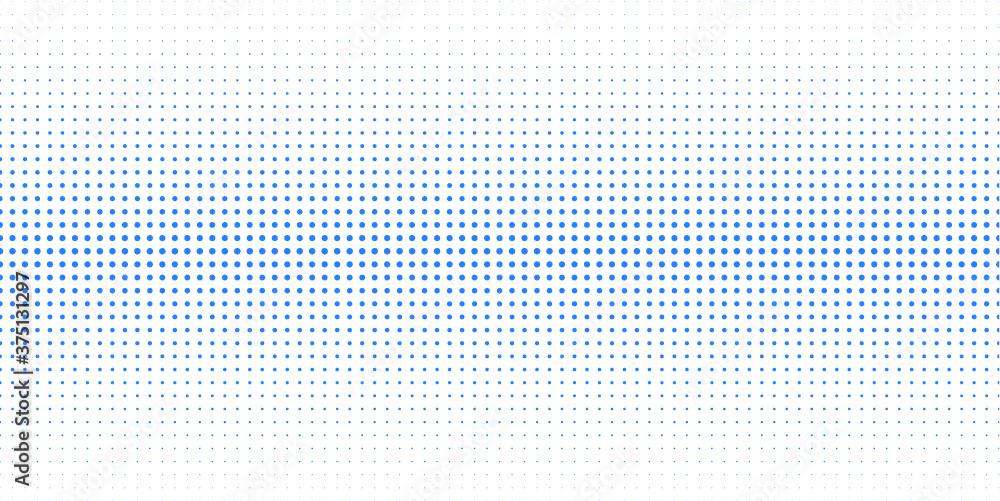 Fototapeta halftone dots vector pattern