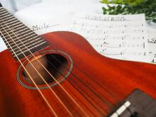 ギターとジャズの楽譜