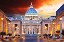 Saint Peter Basilica Rome Italy