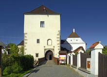 Gothic Castle Of Nove Hrady, Southern Bohemia, Czech Republic