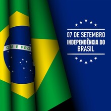 Brazil Independence Day Background.
