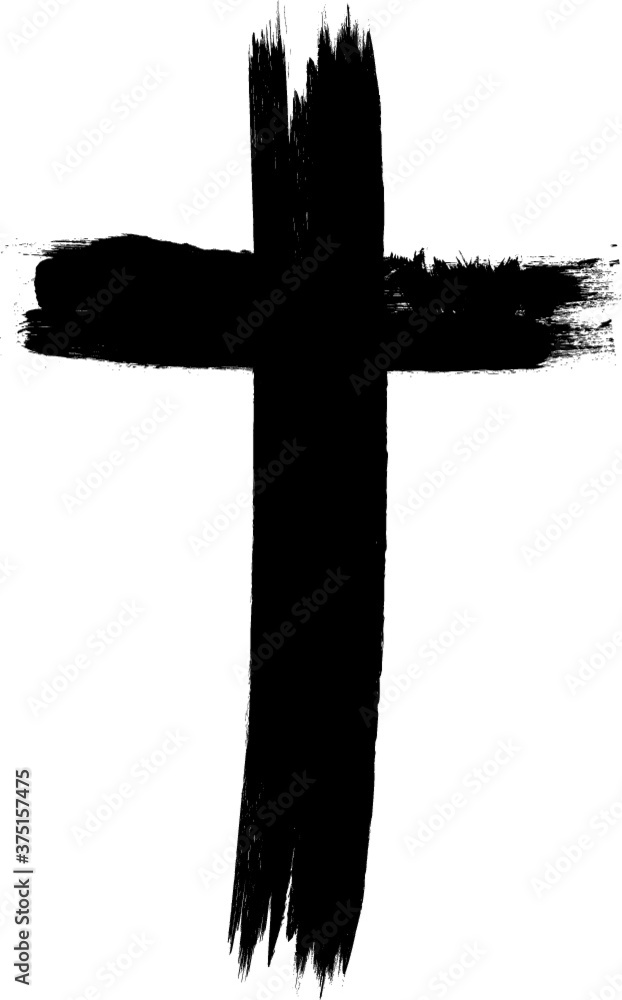 Fototapeta grunge vector cross