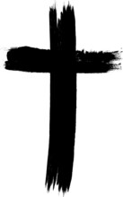 Grunge Vector Cross