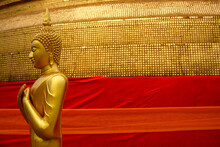 Golden Buddha Statue At Golden...