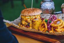 Huge Monster Burger   Overload