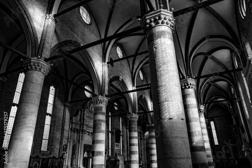 Vicenza (Veneto), viste e dettagli della città Fototapet