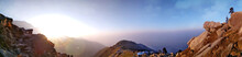 Panoramic Shot Of Mountain Lan...