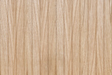 Wooden Slats Wall In Vertical Parallel Pattern, Background Panel Texture