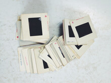 Vintage 35mm Film Slides On An...