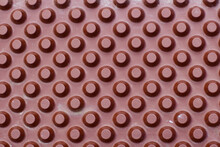 Red Round Plastic Knob Pattern For Background