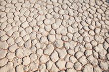 Caked Desert Mud Texture From Sossusvlei, Namibia