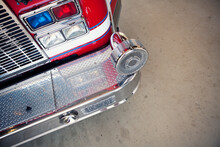 Firehouse: Firetruck Bumper Overhead View