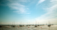 Low Tide In The Thames Estuary