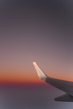 Wing Of A Commercial Airline D...