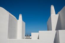 White Villa In Santorini