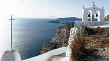 Bells On Santorini, Greece