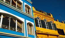 Colorful Buildings In Tangiers