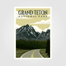 Grand Teton National Park Vint...