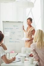 Businesswomen Devising A Business Plan