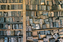 Letter Blocks For Typesetting