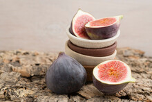 Fresh Figs In Bowls