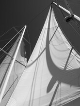 Abstract Detail Of A Sail
