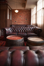 Chesterfield Lounges In A Bar