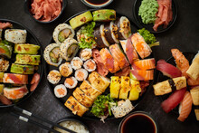 Asian Food Fest. Menu Sushi Wi...