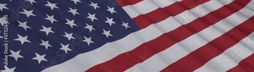 Foto flag of the states of america digital illustration
