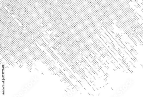 Abstract gray dotted pattern background Canvas