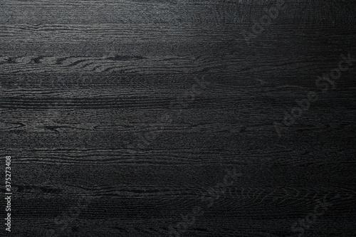 Photo 艶のある黒い木製のボードの背景テクスチャー