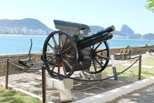 An Old Cannon, The Sugar Loaf ...