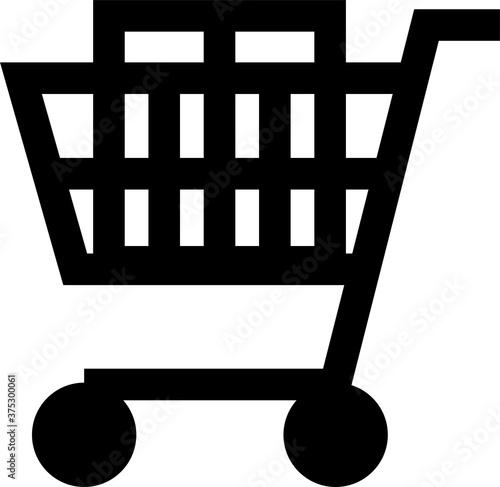 Fotografía ショッピングカート(スーパー)のピクトグラム