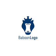 Baboon Logo  Simple & Clean De...